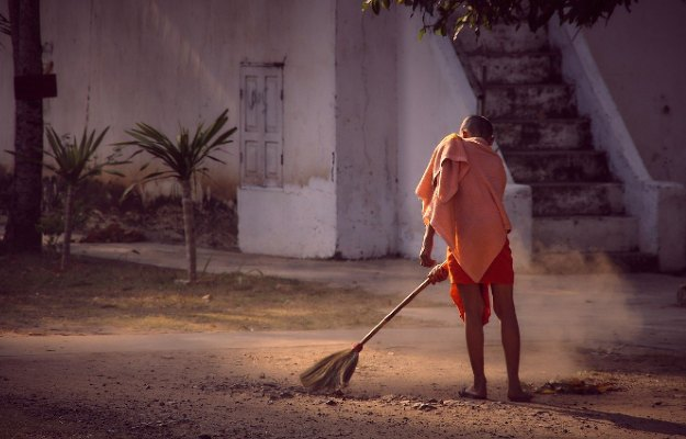 Household chores as a means of exercise