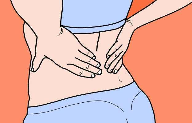 महिलाओं में कमर दर्द