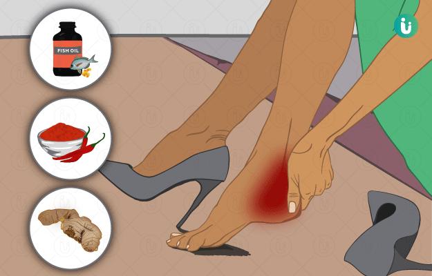 एड़ी में दर्द के घरेलू उपाय - Edi mein