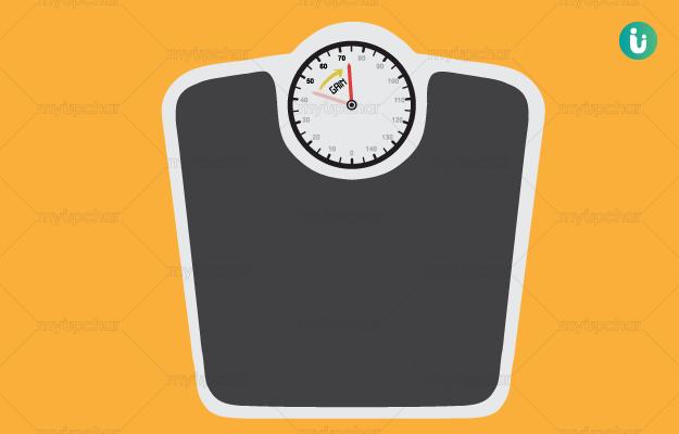 वजन बढ़ाना और मोटा होना