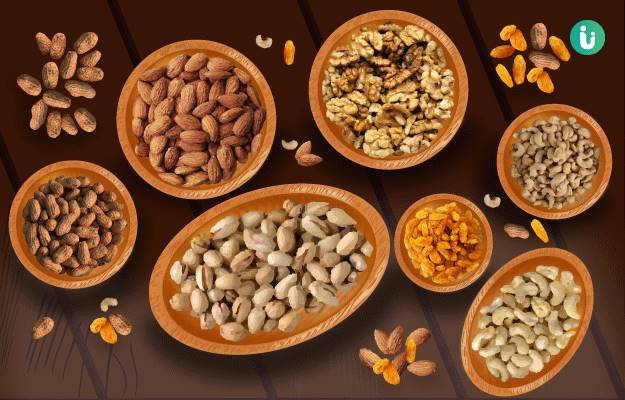 Nuts and Seeds: Nutrition, Health Benefits, Side Effects
