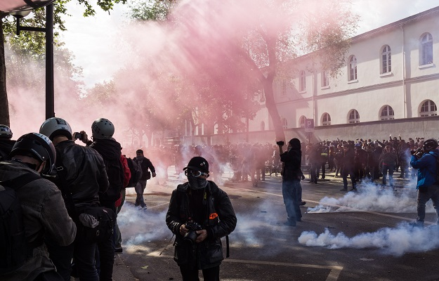 How to Deal with Tear Gas